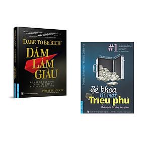 Combo 2 cuốn sách: Dám Làm Giàu + Bẻ Khóa Bí Mật Triệu Phú