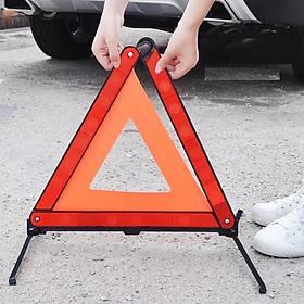 Biển Cảnh Báo Nguy Hiểm - Biển Tam Giác cảnh báo cho xe hơi Phản quang kích cỡ 43Cm