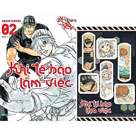Khi Tế Bào Làm Việc - Tập 2 - Tặng Kèm Sticker Hình Băng Cá Nhân (Số Lượng Có Hạn)