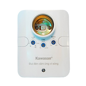 ĐUI ĐÈN CẢM ỨNG VI SÓNG KAWASAN MODEL KW-RS686C