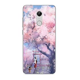 Hình ảnh Ốp điện thoại dành cho máy Xiaomi Redmi 5 Plus - 2 mẹ con MS ACIKI004