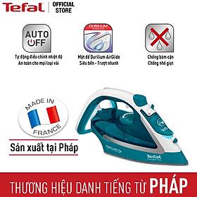 Bàn ủi hơi nước Tefal FV5737E0 2500W - Mặt đế chống dính Durilium AirGlide ủi mọi loại vải - Chống bám cặn và chống nhỏ nước - Xuất xứ từ Pháp - Hàng chính hãng