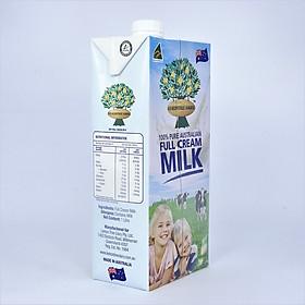 Hộp sữa tươi nguyên chất tiệt trùng UHT Lemon Tree 1L