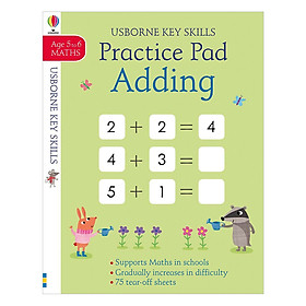 Usborne Adding and Subtracting Practice Pad