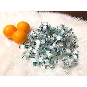 Combo 100 viên khăn giấy nén cao cấp dạng viên kẹo
