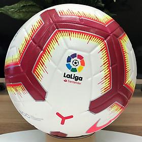 Quả bóng đá ngoại hạng LALIGA 2019 màu đỏ size 5 bóng đúc