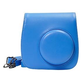 Bao Da Bảo Vệ Máy Chụp Ảnh Lấy Liền Instax Mini 9 Hoặc Mini 8 CASE904 - Cobalt Blue – Hàng Nhập Khẩu