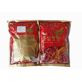 Combo 2 gói kẹo hồng sâm Hàn Quốc Kgs 300g