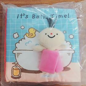 Sách vải It's Bath Time
