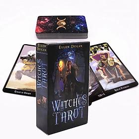 Bộ bài bói Tarot - Witches Tarot Tiếng Anh Chất Lượng Cao