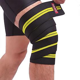 Băng cuốn bảo vệ gối tập gym, chơi thể thao Aolikes AL7164 200cm (1 chiếc)