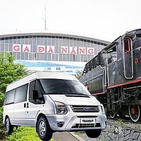 Xe 16 chỗ đón - tiễn ga Đà Nẵng