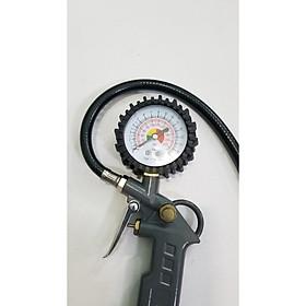 Vòi bơm bánh xe có đồng hồ