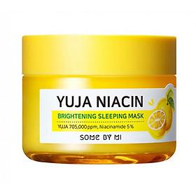 Mặt Nạ Ngủ Dưỡng Ẩm, Dưỡng Trắng Da Some By Mi Yuja Niacin Brightening Sleep Mask