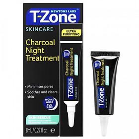 Kem dịu da than hoạt tính T-Zone 8ml