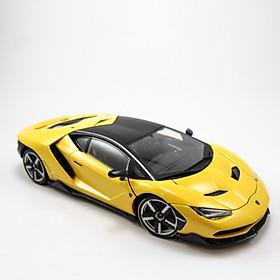Mô Hình Xe Lamborghini Centenario Yellow 1:18 Exclusive Maisto MH-38136