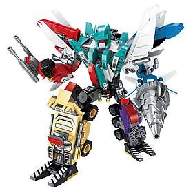 Bộ đồ chơi lắp ráp Robot Không Gian Kích thước  38*27 cm Bằng nhựa ABS an toàn Lego Style
