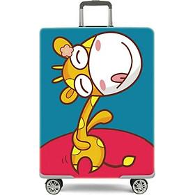 Áo bọc bảo vệ vali, Túi bọc bảo vệ vali chất thun co giãn 4 chiều + Tặng kèm túi đựng giầy