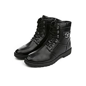 Giày Nam Tăng Chiều Cao Tadaba T1701DE - Đen