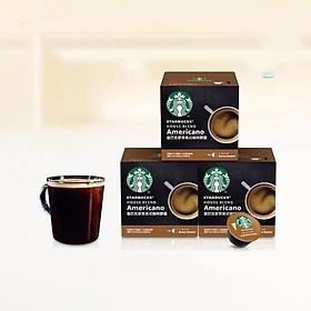 Viên cà phê kiểu Mỹ Starbucks House Blend Americano - 12 viên*3 hộp