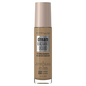 Maybelline Dream Radiant Liquid Foundation 120 Caramel