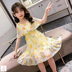 Đầm cho bé gái 5 tuổi (3-12 tuổi) ️ Thời trang bé gái 11 tuổi ️ Váy cho bé gái 10 tuổi