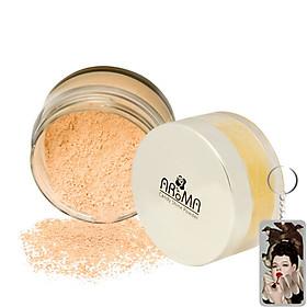Phấn phủ bột kiềm dầu Aroma Candy Shine Powder Hàn Quốc 10g No.102 Da sáng  tặng kèm móc khoá