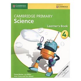 Cambridge Primary Science 4: Learner Book