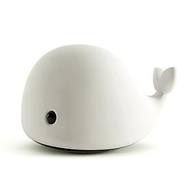 Đèn ngủ LED để bàn Dolphin Light hình cá heo dễ thương Jisulife L2 – Đèn ngủ cảm ứng tự động thay đổi màu sắc ánh sáng bảo vệ mắt, hoạt động 4-8 giờ liên tục, sạc nhanh 2 giờ cổng Micro USB tiện lợi