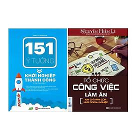 Combo 151 Ý Tưởng Khởi Nghiệp Thành Công Và Tổ Chức Công Việc Làm Ăn Tặng Sổ Tay Ý Tưởng và Bookmark Hiệu Sách Mùa Hạ