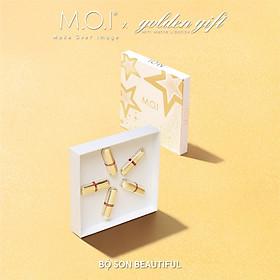 Set 5 Son Môi M.O.I Hồ Ngọc Hà Son Thỏi Love (Golden Gift)