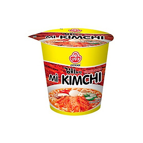 Lô 6 mì ly kimchi Ottogi 62g - 52057