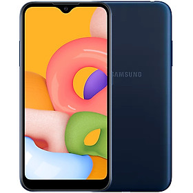 Điện Thoại Samsung Galaxy A01 (16GB/2GB) - Hàng Chính Hãng - Đã Kích Hoạt Bảo Hành Điện Tử