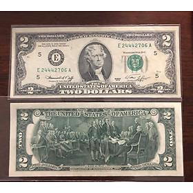 Tờ 2 USD 1976, tiền cổ Mỹ sưu tầm may mắn nhất thế giới