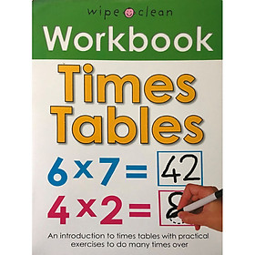 Wipe Clean Workbook Times Tables