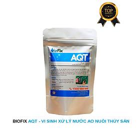 Vi sinh xử lý tảo, làm sạch nước ao nuôi, kích thích tăng trường thủy sản - BioFix AQT gói 150 gram