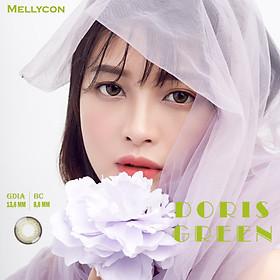 Kính áp tròng màu 1 tháng Mellycon - Doris Green