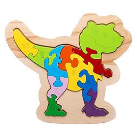 Đồ Chơi Gỗ Ghép Hình Puzzle Tottosi T-Rex 303014 (11 Mảnh Ghép)