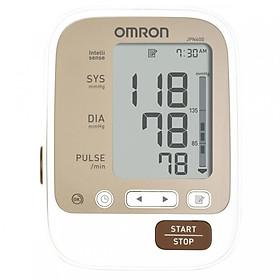 Máy đo huyết áp Omron JPN600 + Tặng máy đo đường huyết Safe-Accu