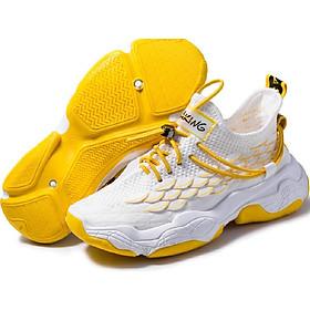 Men's flyknik breathable wild trendy running shoes