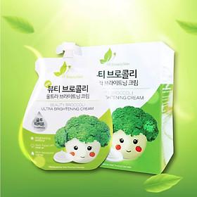 KEM FACE SÚP LƠ - Beauty Broccoli Ultra Brightening Cream (3 túi)-1