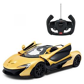 Đồ chơi xe điều khiển RASTAR Xe Mc Lauren P1 mở cửa bằng tay cầm màu vàng R75100-YEL