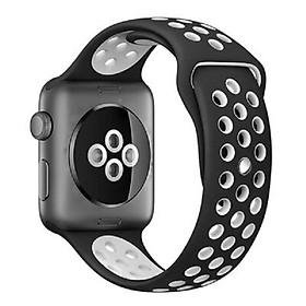 Dây đeo thể thao thay thế cho Apple Watch 42mm / 44mm hiệu Kakapi Sport cao cấp (chất liệu silicon cao cấp, thiết kế ôm sát tay, siêu chắc chắn) - Hàng chính hãng