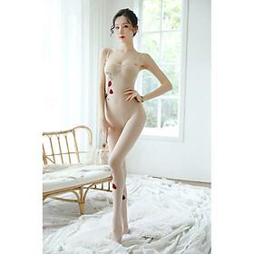 Bộ ngủ toàn thân hoa dây cosplay sexy BD014, đồ ngủ gợi cảm, đồ lót sexy, đồ lót nữ, đồ ngủ cosplay, Feesize