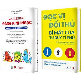 Combo Sách - Marketing Đáng Kinh Ngạc + Đọc Vị Đối Thủ - Bí Mật Của Tư Duy Tỉ Phú