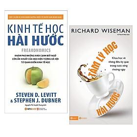 Combo Sách Kinh Tế: Tâm Lý Học Hài Hước + Kinh Tế Học Hài Hước (Tái Bản) - (Khám Phá Về Những Điều Kì Diệu Trong Cuộc Sống / Tặng Kèm Bookmark Greenlife)