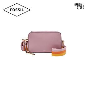 Túi đeo vai nữ khoá kéo nhỏ thời trang Fossil Billie ZB7996506 - màu hồng