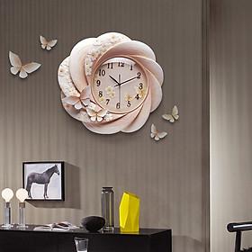 Đồng hồ phù điêu Hoa HLB362