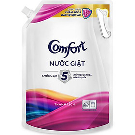 Nước Giặt Chống Lão Hóa Comfort Hương Thanh Lịch Túi 3,1kg