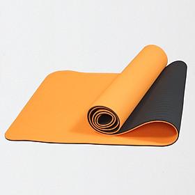Thảm Tập Yoga Eco Friendly TPE 8mm 2 Lớp
